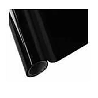 black gloss foil