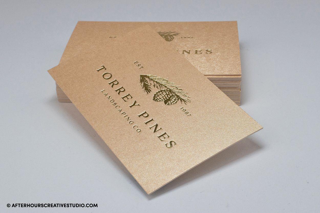 Gmund Gold Luxury Business Card