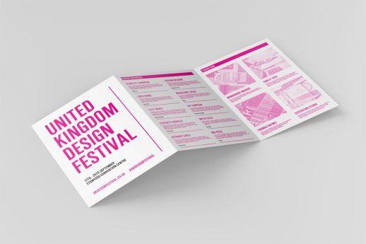 A5 z-fold leaflets