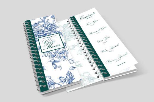DL wire bound notebook