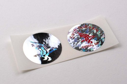 foil security hologram stickers