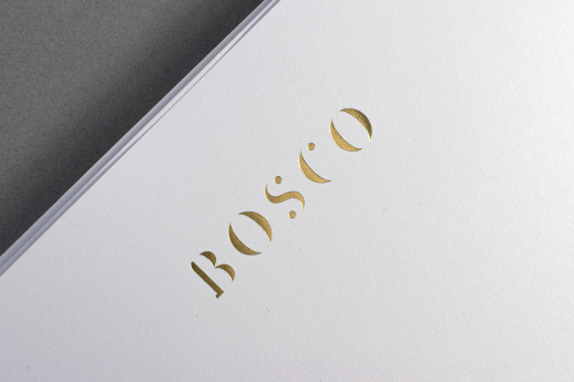 Luxurious Conqueror Wove letterheads on 120gsm with gold metallic foil.