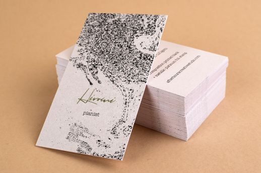 Gmund Gold Composition Business Card