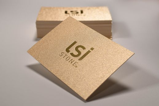 Gmund Gold Business Cards