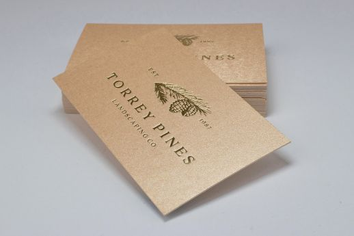 Gmund Gold Luxury Business Card