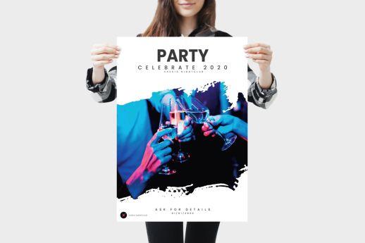 Premium 220mic PVC Poster printing.