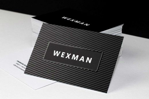 Spot UV Business Cards on 450gsm