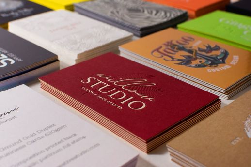 AHC Studio business cards sample pack.