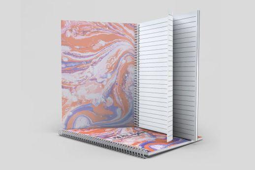 wiro bound note books