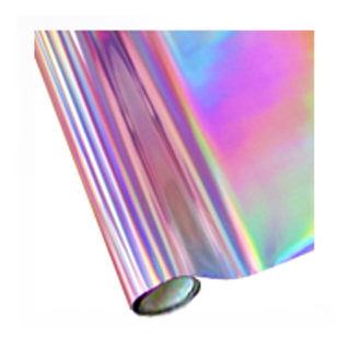 holographic silver foil