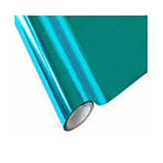 metallic turquoise foil