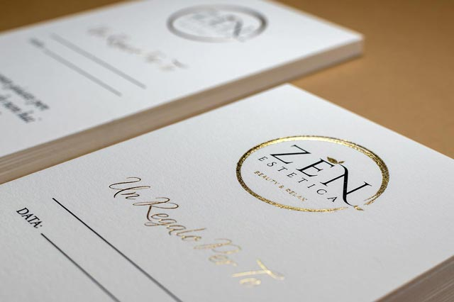 Luxury Gold Foil Stamping