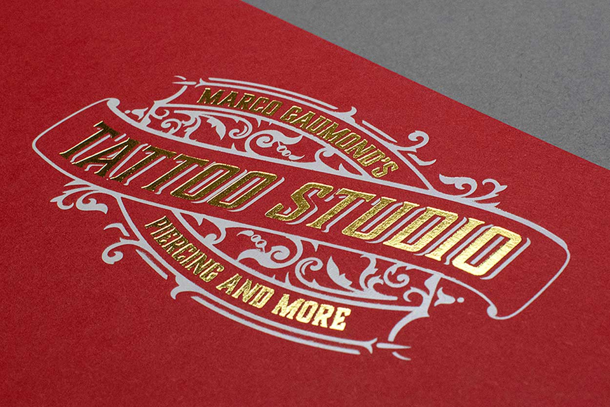 gold foil stamping printing